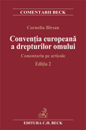 Conventia europeana a drepturilor omului. Editia 2