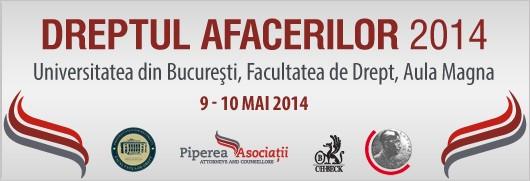 Conferinta Dreptul Afacerilor 2014