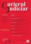Curierul Judiciar nr. 3/2015
