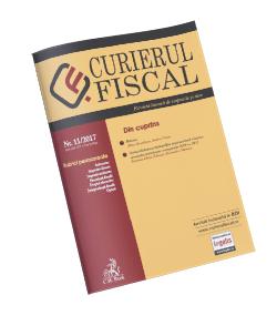 Revista Curierul fiscal nr. 11/2017